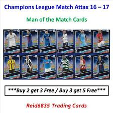 Champions League Match Attax 16 - 17: Man of the Match Cards (Free UK P&P)