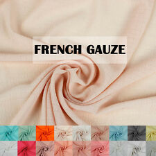 Light-Weight French Gauze Fabric by the Yard - Style 0653