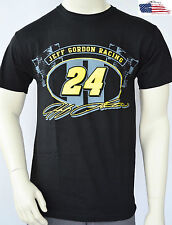 NASCAR T-Shirt - Jeff Gordon 24 - Jeff Gordon Racing - Schwarz - lizensiert