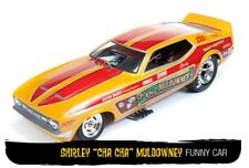 AUTO WORLD 1106 1113 1117 1122 1111 MUSTANG Drag Strip model FUNNY cars 1:18th