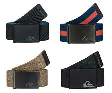 "QUIKSILVER ""THE JAM"" MENS REVERSIBLE BELT. 4 COLOURS (EQYAA03352)"