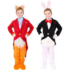 CHILDS FAIRYTALE FOX OR RABBIT ANIMAL BOOK CHARACTER DAY FANCY DRESS COSTUME