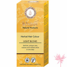 Khadi Herbes Coloration Cheveux in Blonde - Blond Clair 100g