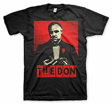 UNISEX Official Licensed Black THE GODFATHER MARLON BRANDO THE DON  T-Shirt