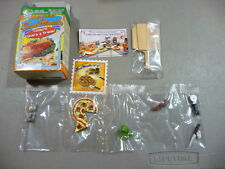 Re-ment Puchi Petite Fun Meals # 1 PIZZA NIGHT   Miniature Food NEW-BOX