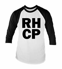 Red Hot Chili Peppers RHCP Unisex Baseball T-Shirt All Sizes