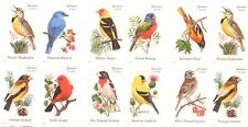 Songbirds Booklet of 20 USPS Forever Postage Stamps 20 stamps