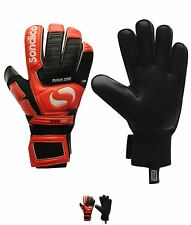 NEW Sondico Neosa Dual Uomo Goalkeeper Guanti Black/Red