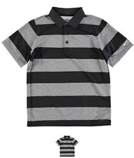 SCONTO Nike Bold Stripe Golf Polo Junior Boys Black