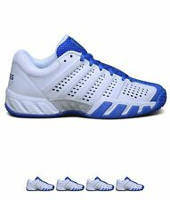 SALDI K Swiss Swiss Bigshot Lite Junior Tennis Shoes White/Blue