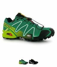 SCONTO Salomon Speedcross 3 GTX Uomo Trail Scarpe running Green/Green