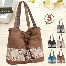 Women's Lady Handbag Canvas Tote Travel Large Messenger Bag Shoulder Bags Purse