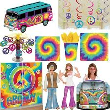 Anni ' 60anni ' 60 Party Decorazione Hippie Flower Power Pace Set Sessanta Motto