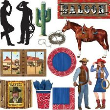 SELVAGGIO WEST PARTY Cowboy Indiani Western Festa a tema bambini compleanno