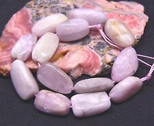 13 NATURAL CHATOYANT PINK AFGHAN KUNZITE NUGGET BEADS 153cts 16-20mm 9.25