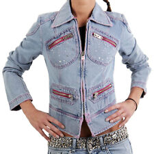 MET Damen Jeans Jacke Denim Cheeky Blue 151686