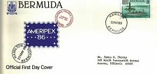 BERMUDA FIRST DAY COVER 1986 CENTENNIAL OF THE STATUE OF LIBERTY
