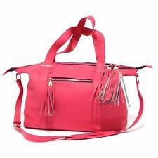 9974R borsa donna LIU JO EUBEA shopping bag fuxia tracolla hand bag woman