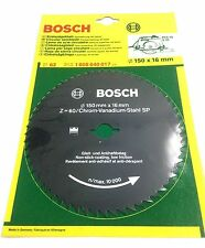 BOSCH 150MM CIRCULAR SAW BLADE 150 x 16 x 60T 1 608 640 017 replacement spare