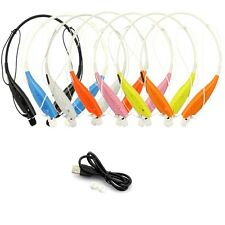 Wireless Bluetooth Headset Stereo Headphone Sport Hands free