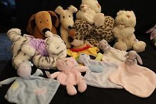 TESCO VARIOUS BLANKIES SOFT PLUSH TOYS COMFORTERS  MULTI CHOICE LIST YOU CHOOSE