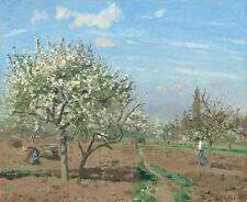 "Camille Pissarro : ""Orchard in Bloom, Louveciennes"" (1872) — Fine Art Print"