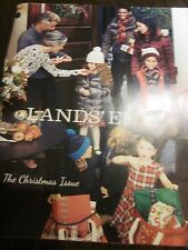 LANDS' END LANDS END THE CHRISTMAS ISSUE 2015 CATALOG BRAND NEW