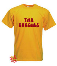 The Goodies CULT TV Divertido Retro Años 70 AÑOS 80 Camiseta Todas Las Tallas