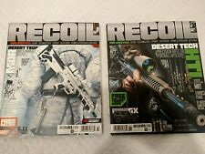 RECOIL Magazine 2016 Issue 23 & 27  (Lot of 2)