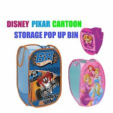 Disney Pixar Marvel Foldable Pop Up Toy Storage Bin Laundry Baskets