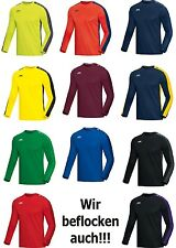 JAKO Striker Herren / Kinder Sweat Sweatshirt Trainingssweat mit Flock optional