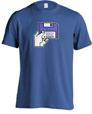 Commodore Amiga A500 Kickstart Workbench Insert Disk Geek T-shirt