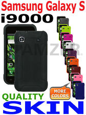 AMZER Silicone Jelly Skin+ xtra Case Screen Protector For Samsung Galaxy S i9000