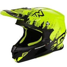SCORPION Casco da motocross - vx-21 Air - mudirt - schwarz GIALLO FLUO ENDURO MX