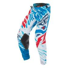 Fly Racing 17 Motocross Enfants/MTB Pantalon Kinetic Relapse rouge-blanc-bleu