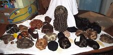 Lot of 24 Doll Wigs Various Size & color *All New