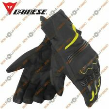 Guanti moto Tempest Unisex D-Dry Short Gloves Nero/Giallo-Fluo