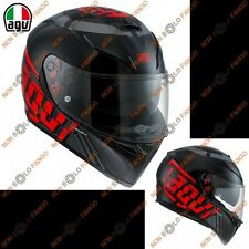 Casco moto Integrale K-3 SV E2205 MULTI MYTH Black/Grey/Red
