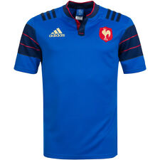 France Adidas Rugby Heim Maillot Fr. Fr Jersey S88860 France Maillot M-XXL Neuf