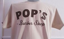 MARVEL'S LUKE CAGE INSPIRED POP'S BARBER SHOP MENS T-SHIRT.
