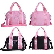 Girls Ballet Barrel Shoulder Bag Kids Dance Gymnastics Shoe Dance Wear Handbag