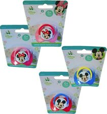 Minnie Mouse & Mickey Mouse, 0+ Months, Disney Baby Deluxe Pacifiers
