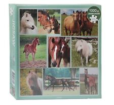 Red Horse Puzzle with horses 1000 pieces HORSE GIFTS