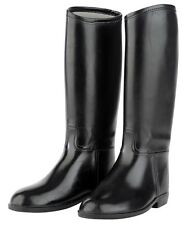 Red Horse Adults Ladies Tall Horse Riding Boots PVC RUBBER ALL SIZES & BLACK