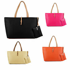 Vincenza Designer Leather Style Summer Tote Large Womens Faux Bag IN Bag