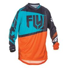 Fly Racing Hombre Motocross / Mtb Jersey -f-16-Orange -teal Enduro MX Cross
