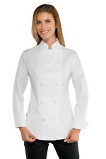GIACCA CUOCA CHEF DONNA LADY SUPER STRETCH ISACCO MADE IN ITALY WOMAN JACKET