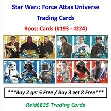 """Topps"" Star Wars: Force Attax Universe: - Boost Cards (#193 - #224)"