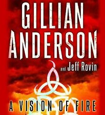 A Vision of Fire by Jeff Rovin and Gillian Anderson (2014, CD, Unabridged)