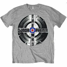 Official Unisex GREY GRAY Men's THE WHO QUADROPHENIA Music Band T Shirt